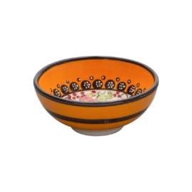 Nimet tapaszos bowl , leveses tál 12 cm  narancssárga