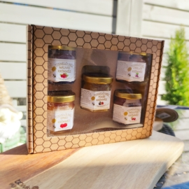 Kézműves termelői méz - 5db-os ajándékcsomag