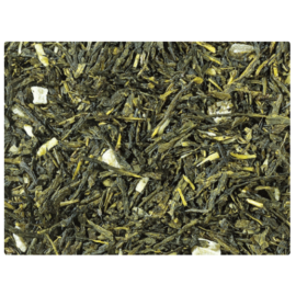 Zöld tea keverék, ízesítve · Sencha · Piña Colada - 50g