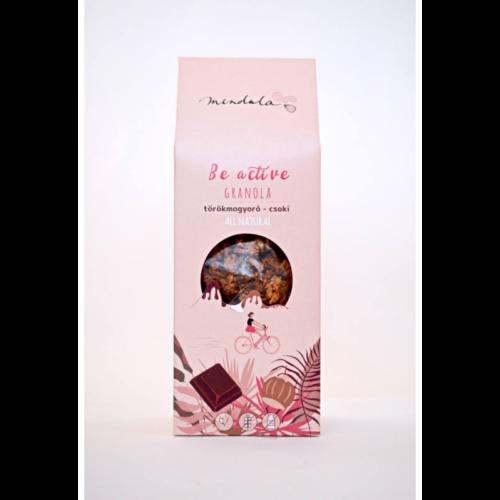 Mendula törökmogyorós-csokis granola 300g