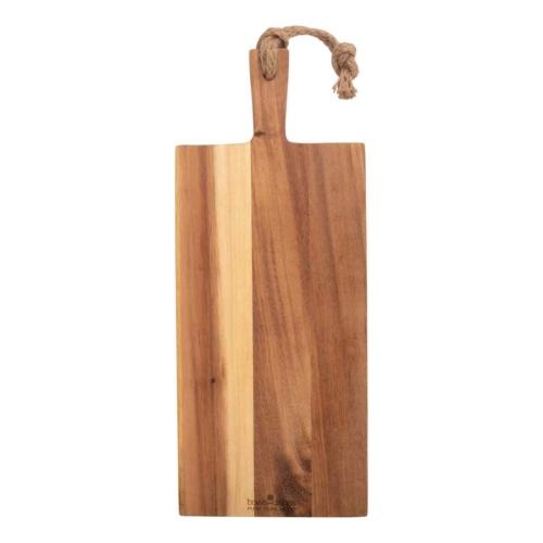 Teakfa tálaló , vágódeszka  39x20x1,5cm