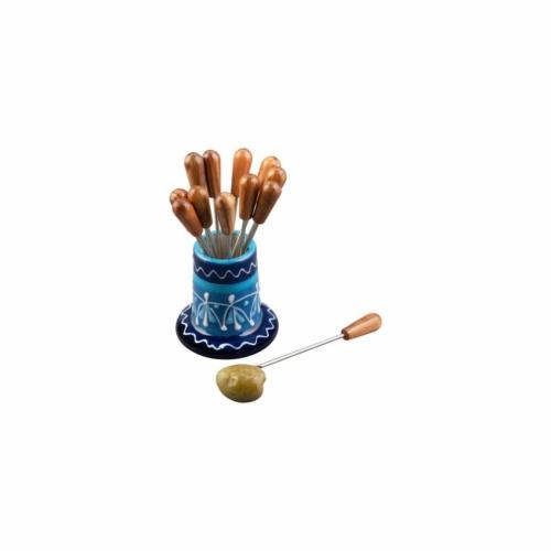 kezmuves-agyagkeramia-tapasz-tuske-tarto-kek-kezzel-festett-bowl and dishes