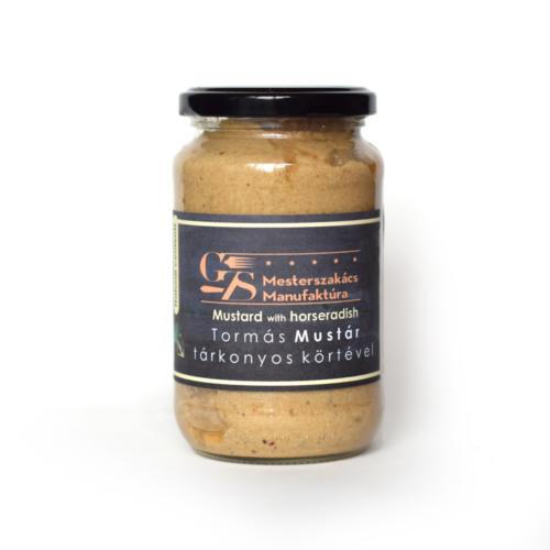 Tormás mustár, tárkonyos körtével 370g
