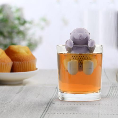Teafilter szilikon lajhár (teafilter)
