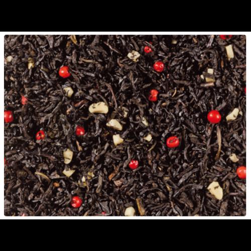 Fekete tea keverék, ízesítve · Édes marcipán 50g