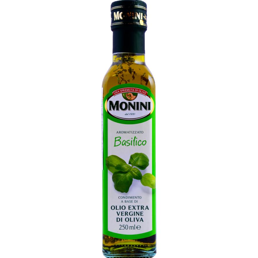 Monini olívaolaj bazsalikomos 250ml