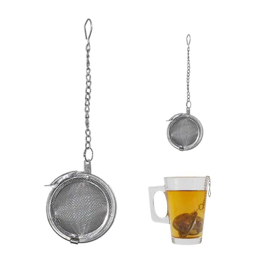 Teaszűrő rozsdamentes acél, Ø 4,5 cm