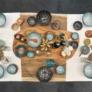 Kép 4/4 - bowl-tanyer-levesestanyer-tapas-handmade-skyline-talalo-talakkal-kek-11cm
