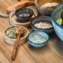 Kép 3/4 - bowl-tanyer-levesestanyer-tapas-handmade-skyline-talalo-talakkal-kek-11cm