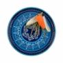 Kép 2/5 - kezmuves-agyagkeramia-tapasz-tal-edeny-bowl-kek-kezzel-festett-bowl and dishes