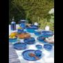 Kép 1/4 - kezmuves-agyagkeramia-etkeszlet-kek-kezzel-festett-bowl and dishes