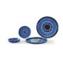 Kép 3/4 - kezmuves-agyagkeramia-etkeszlet-kek-kezzel-festett-bowl and dishes