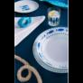 Kép 3/3 - Olasz-keramia-etkeszlet-hal-mintas