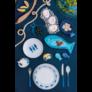 Kép 2/3 - Olasz-keramia-etkeszlet-hal-mintas
