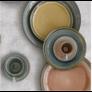 Kép 3/3 - Nuova olasz kerámia tányér 19cm