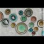 Kép 2/3 - Nuova olasz kerámia tányér 19cm