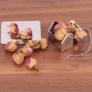 Kép 2/5 - Teagömb rozsdamentes acél házikó formájú (teafilter)