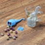Kép 2/4 - Teafilter szilikon elefánt (teafilter) narancssárga