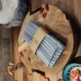 Kép 2/2 - konyharuha-100-waffel-pamut
